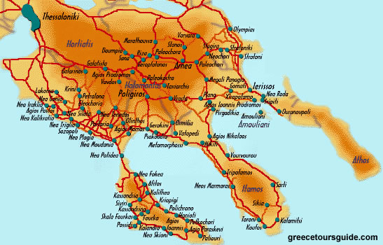About Greece Chalkidiki Greece Chalkidiki Guide About Greece