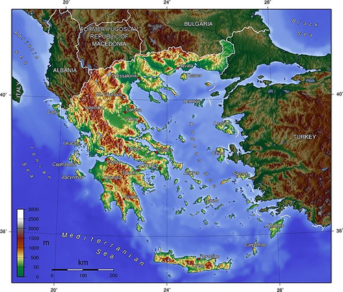 Geography of ancient greece map greece map greece history greece geographical regions map greece gumiabroncs Images