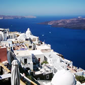 Popular Locations in Greece Santorini